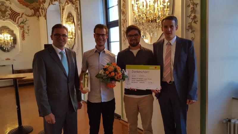 Auszeichnung mit dem HelferHerzen Preis